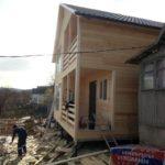 Каркасный дом в Абакане