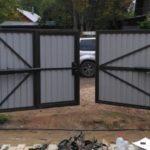 Распашные ворота Абакан