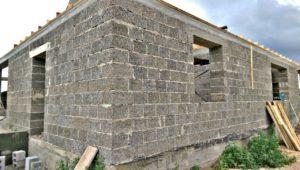 Дом из арболита в Абакане