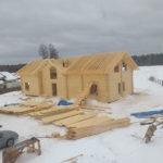 Строительство дома из бруса в Абакане